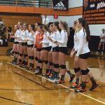 Girls Varsity Volleyball beats Boone 3 – 2