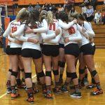 Girls Varsity Volleyball beats Colonial 0 – 3