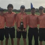 Boys Varsity Golf finishes 1st place at Metro Conference Championship