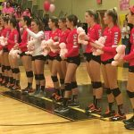 Girls Varsity Volleyball falls to Bishop Moore 3 – 0