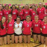 Girls Varsity Volleyball falls to Lake Highland Prep 3 – 0