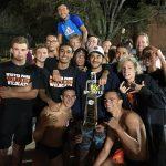 Boys Varsity Swimming finishes 1st place at Metro Championship