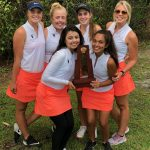 Girls Varsity Golf finishes 1st place at District Championship
