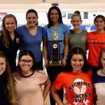 Girls Varsity Bowling finishes 3rd place at District Tournament