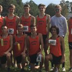Boys Varsity Cross Country finishes 4th place at District Championship