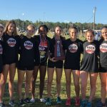 Girls Varsity Cross Country finishes 1st place at Region Championship