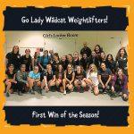 Girls Varsity Weightlifting – Freedom