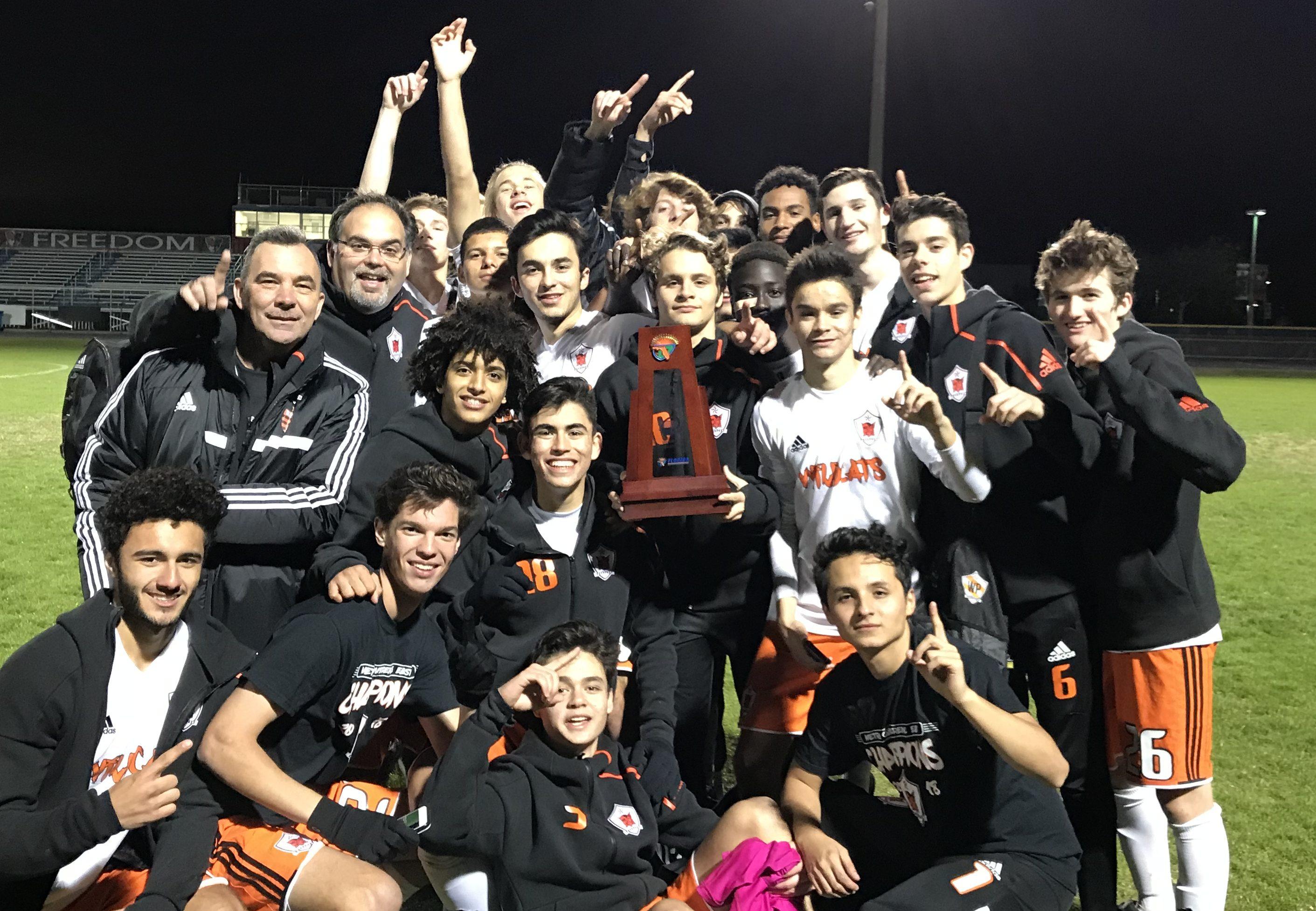 Boys' Soccer – District Champions