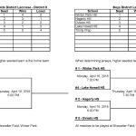 Lacrosse District Tournament