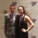 Erin Wright and Matthew Kuczajda – FHSAA Academic All State