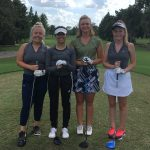 Girls Varsity Golf beats Trinity Preparatory School 173 – 186