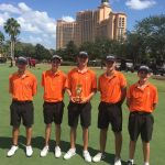 Boys Varsity Golf finishes 1st place at Super 6