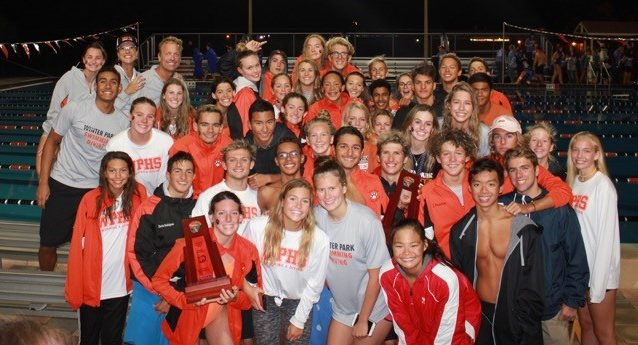Girls' & Boys' Swimming – District Champions