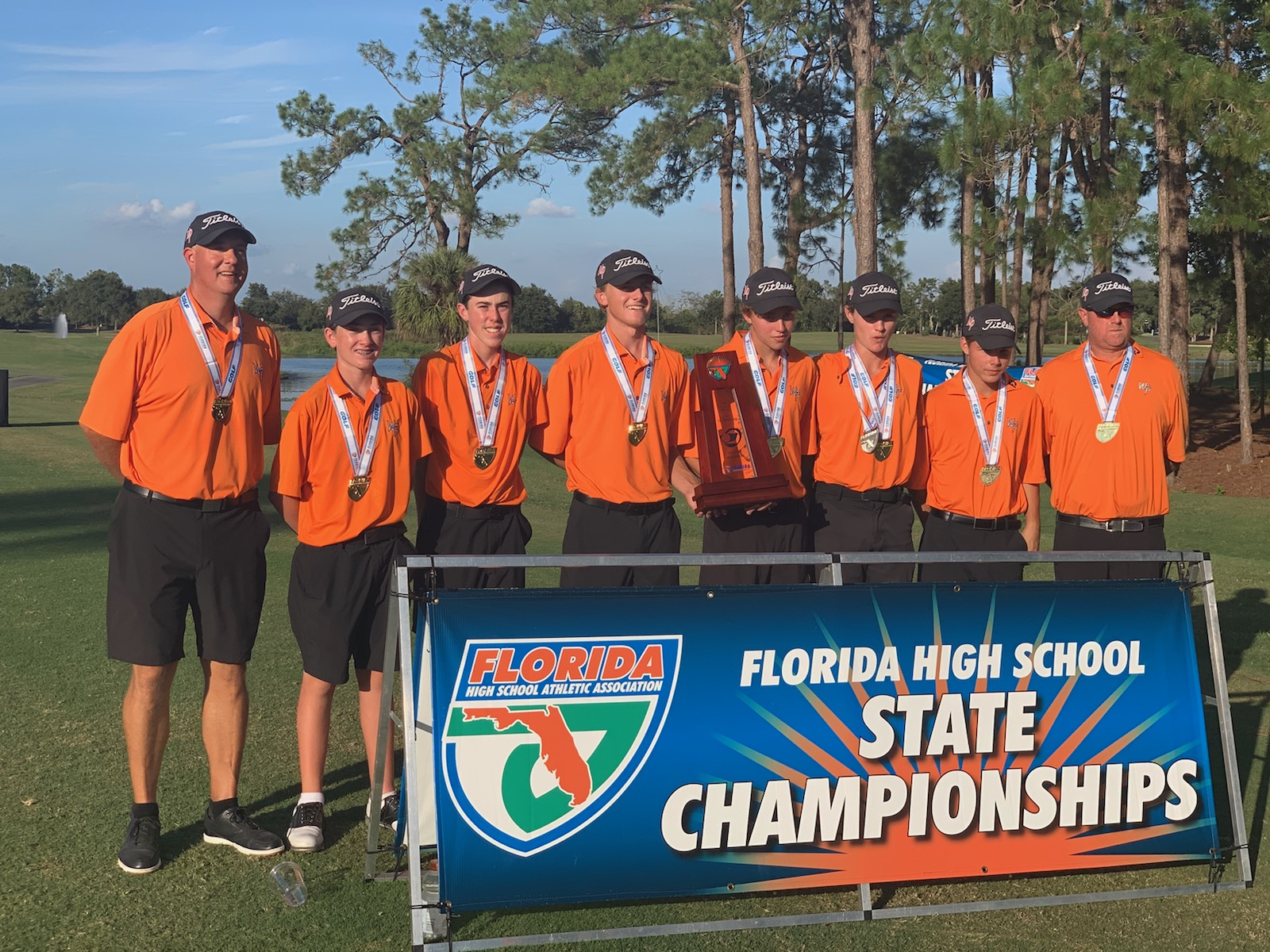 Boys' Golf – State Champions