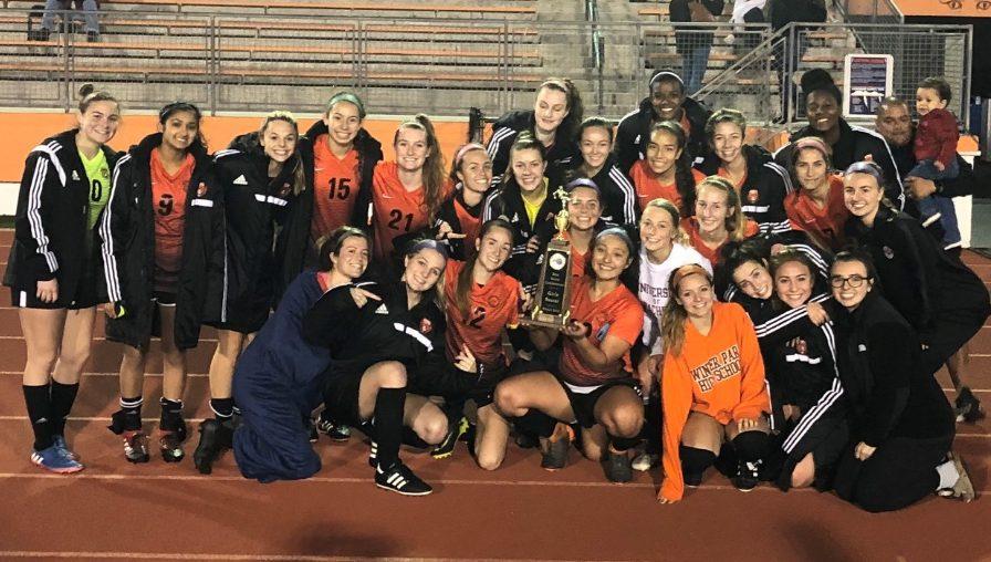 Girls' Soccer – Metro, District  Champions, Region Finalist