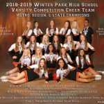 Cheerleading Tryout information – Note time changes – Updated 4/30