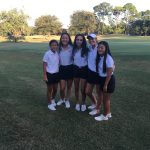 Girls Varsity Golf beats Edgewater 195 – 240