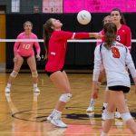 Girls Volleyball Defeats Sickles 2-0