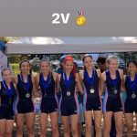 Girls Varsity Crew finishes 1st place at Metro Cup