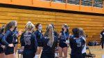 Girls Varsity Volleyball beats University 3 – 0