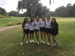 Girls Varsity Golf finishes 9th place at 3A Region 1 Championship