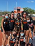 Girls Track Metro East Champions