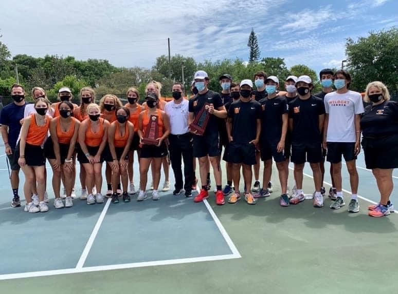 Boys and Girls Tennis District Champions