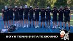 Boys Tennis Regional Champions