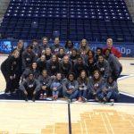 Cardinal Girls Basketball Attends Women's Crosstown Shootout