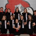 Girls Varsity Bowling finishes 8th place, Advances to Districts!