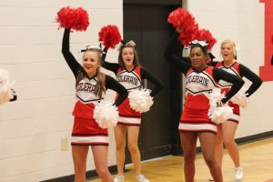 Basketball Cheerleaders!