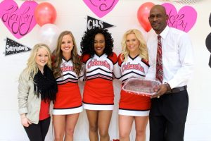 Cheer &  Basketball Sr Night 2-12-2016