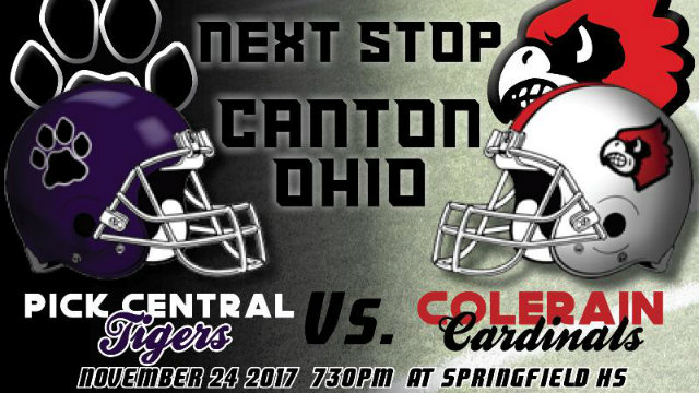 Playoff Football Preview: AP #10 Colerain Cardinals vs. AP #8 Pickerington Central Tigers