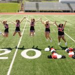 Thanks to Our Cheer Seniors for Four Amazing Years!