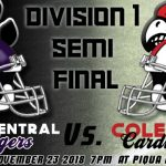 Football Playoffs – State Semi-Finals Preview vs. Pick. Central Tigers (11-2)