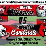 Football Week 1 Preview:  Wayne Warriors