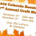 Colerain Boosters announce world famous Craft Show!