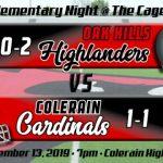 Football Week 3 Preview:  Oak Hills Highlanders (0-2)