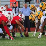 Cards topple Aviators on Homecoming, 27-7