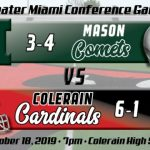 Football Week 8 Preview:  Mason Comets (3-4)