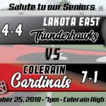 Football Week 9 Preview:  Lakota East Thunderhawks (4-4)