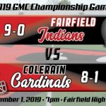 Football Week 10 Preview – GMC CHAMPIONSHIP EDITION:  Fairfield Indians (9-0)