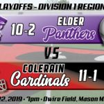 Football Playoffs Regional Final Preview:  #4 Elder Panthers (10-2)