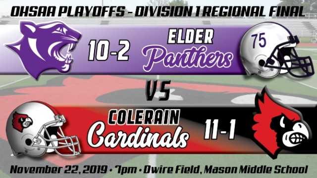 Football Playoffs Regional Final Preview:  #4 Elder Panthers (10-2)