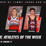 Athletes of the Week: January 27