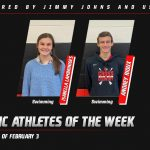 Athletes of the Week – February 3rd