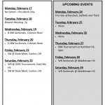 Weekly Schedule for Colerain Athletics – Feb. 17