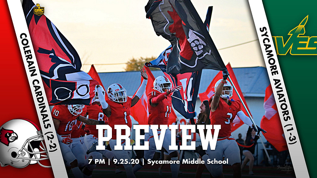 Football Week 5 Preview – Colerain Cardinals (2-2) vs. Sycamore Aviators (1-3)