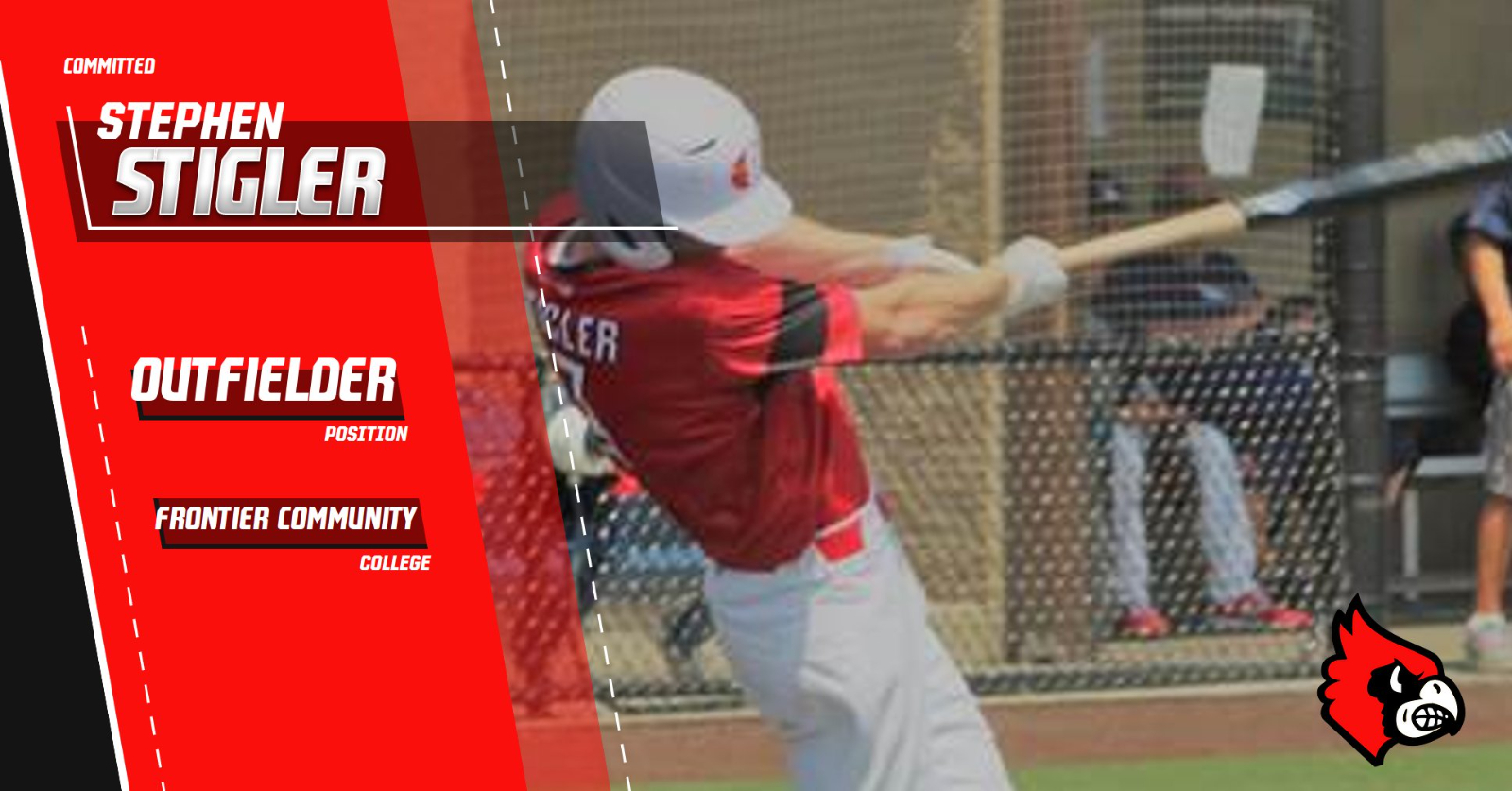 Stigler Signs with Frontier Community College!