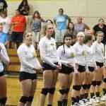 Varsity Volleyball vs. Lutheran North (14 Sep 17)